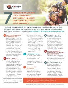 7 razones - español
